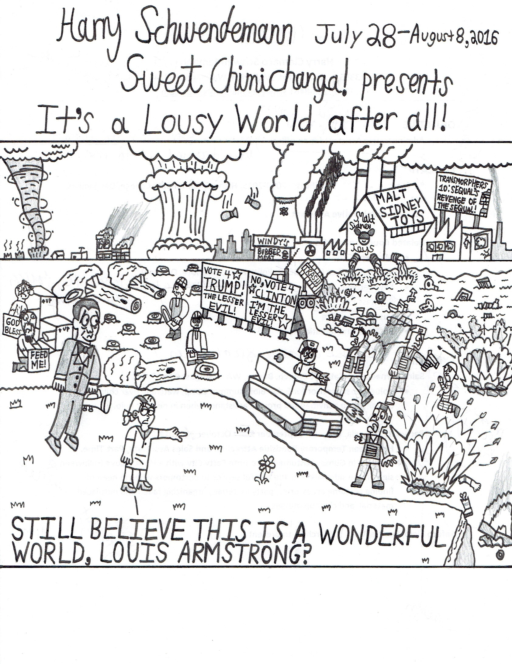 It's a Lousy World after all!