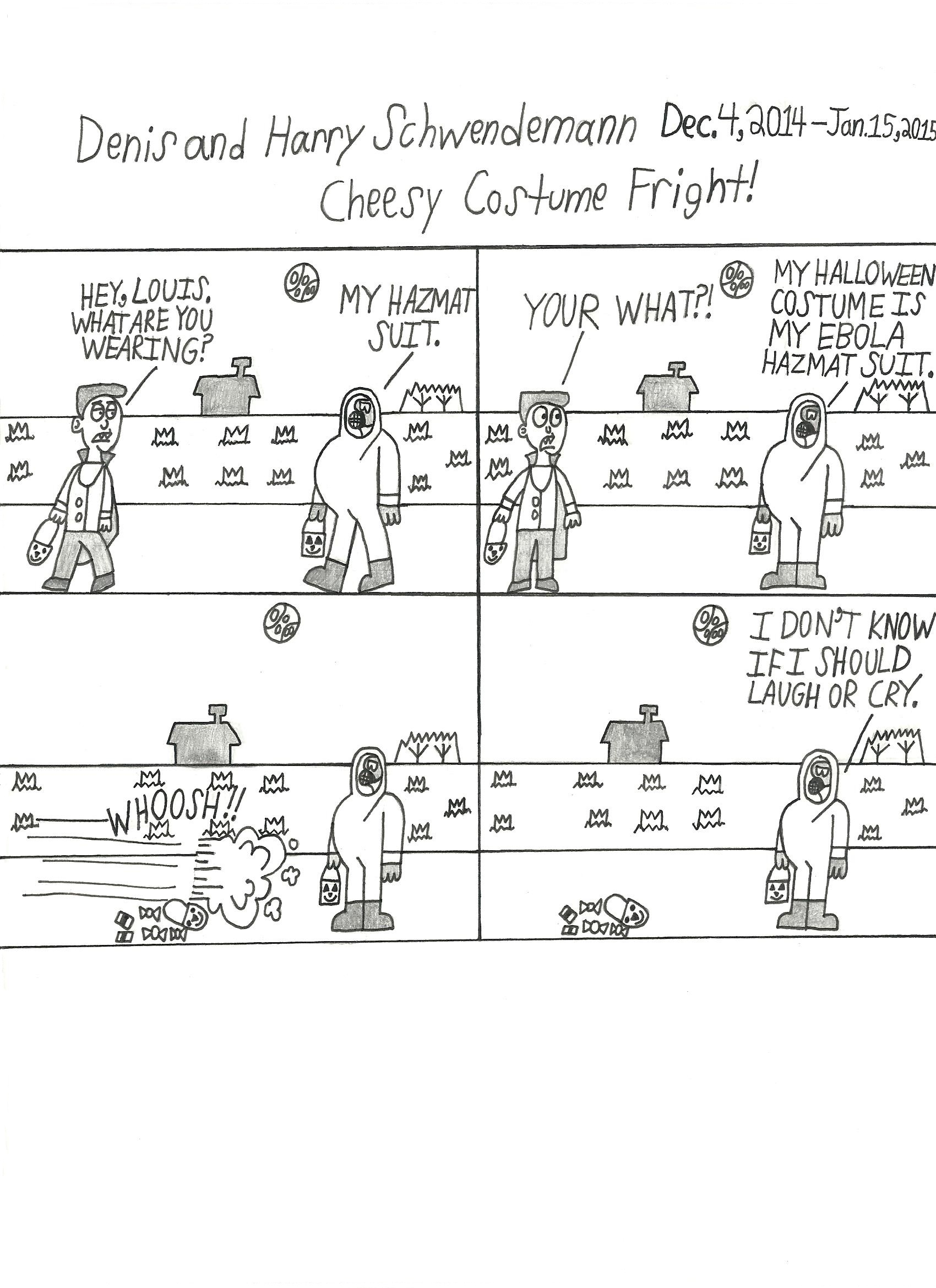 Chessy Costume Fright